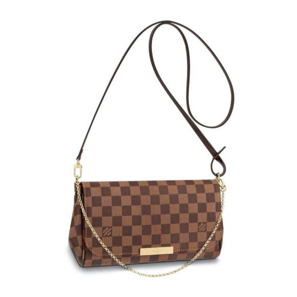 Louis Vuitton Handbags - Louis Vuitton Favorite MM Damier Ebene Bag N41129